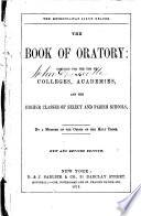 The Book of Oratory
