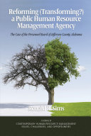 Pdf Reforming (Transforming?) a Public Human Resource Management Agency Telecharger