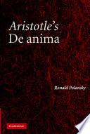 Aristotle s De Anima