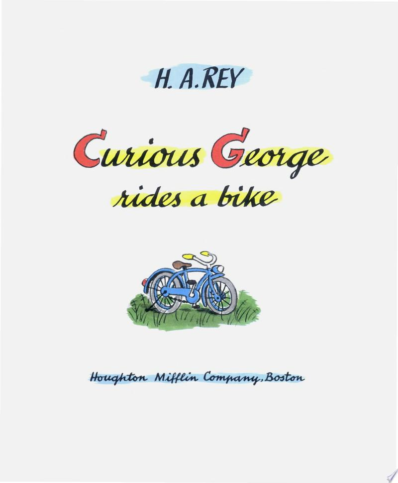 Curious George Rides a Bike banner backdrop
