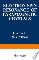 Electron Spin Resonance Of Paramagnetic Crystals Book PDF
