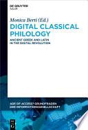 Digital Classical Philology