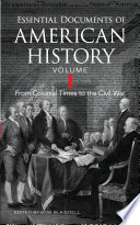 Essential Documents Of American History