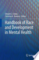 Handbook Of Race And Development In Mental Health