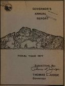Governor S Annual Report