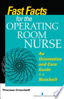 Fast Facts For The Operating Room Nurse Book PDF