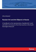Russian Art and Art Objects in Russia ebook