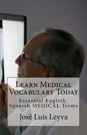 Learn Medical Vocabulary Today