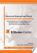 Advanced Engineering Forum Book PDF