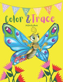 Spring Color   Trace Activity Book