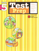 Test Prep: Grade 5 (Flash Kids Harcourt Family Learning)
