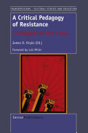 Pdf A Critical Pedagogy of Resistance Telecharger
