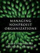 Managing Nonprofit Organizations Pdf/ePub eBook