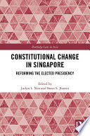 Constitutional Change in Singapore
