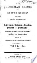 The Columbian Phenix and Boston Review