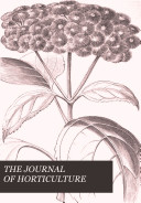 THE JOURNAL OF HORTICULTURE