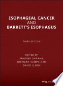 Esophageal Cancer and Barrett s Esophagus Book
