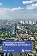 Pdf Evaluating Environment in International Development Telecharger