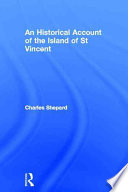 An Historical Account of the Island of Saint Vincent Book PDF