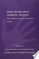 Home Truths About Domestic Violence Book