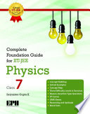Complete Foundation Guide For IIT Jee  Physics 7