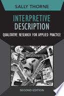 Interpretive Description Book