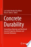 Concrete Durability Book PDF