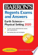 """""""Regents Exams and Answers: Earth Science-Physical Setting 2020"""" by Edward J. Denecke"""
