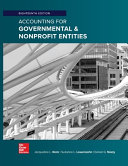 Accounting for Governmental   Nonprofit Entities Book