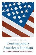 Contemporary American Judaism