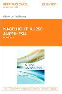 Nurse Anesthesia - E-Book