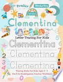 Clementina Letter Tracing for Kids