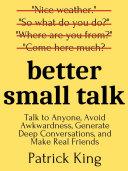 Better Small Talk Pdf/ePub eBook