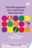Self-management and Leadership Development