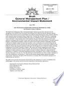 Draft, General Management Plan, Environmental Impact Statement