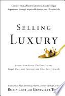 Selling Luxury Book