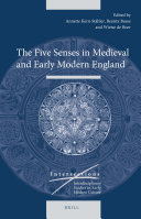 The Five Senses in Medieval and Early Modern England