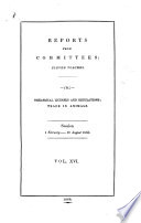 Reports from Committees Book PDF