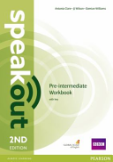 Speakout Pre-Intermediate 2nd Edition Workbook with Key