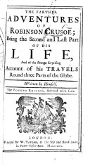 The Farther Adventures of Robinson Crusoe  etc