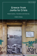 Greece from Junta to Crisis