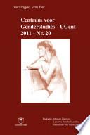 Verslagen Van Het Rug Centrum Voor Genderstudies 20 2011