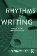 Pdf Rhythms of Writing Telecharger