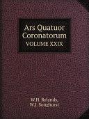 Ars Quatuor Coronatorum Pdf/ePub eBook