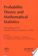 Probability Theory and Mathematical Statistics