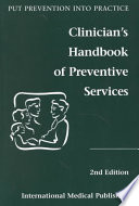 Clinician s Handbook of Preventive Services