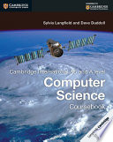 Books - Cambridge International As & A Level Computer Science Coursebook | ISBN 9781107546738