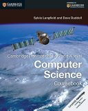 Cambridge International AS and A Level Computer Science Coursebook