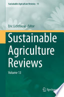 Sustainable Agriculture Reviews Book