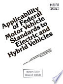 Applicability of Federal Motor Vehicle Standards to Electric and Hybrid Vehicles